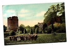 Cheshire - Chester, Water Tower & Roman Bath - Postcard Franked 1907