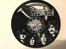 Repurposed Vinyl Record Clocks and Wall Art -  Led Zeppelin-3