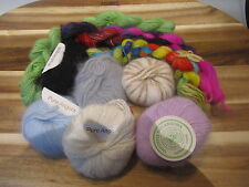 ***SALE***  10g ball 100% pure angora yarn, handpainted & solid