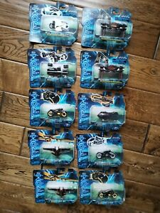 Tron Legacy Movie Collectors Diecast Series Collection Bundle Brand New