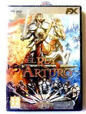 El Rey Arturo PC Nuevo New Retro Sealed Precintado Videojuego Videogame SPA