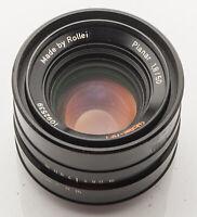 Rollei HFT Planar 1.8/50 50mm 50 mm 1:1.8 1.8 Rolleiflex QBM - DEFEKT