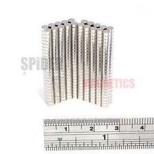 500 pequeños imanes de N52 3x1.5 mm Imán De Neodimio Disco pequeñas embarcaciones 3mm diámetro x 1.5mm