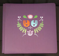 NEW Creative Memories 12x12 Album ~ FAST2FAB PURPLE DOVE ALBUM ~ Pages Protector