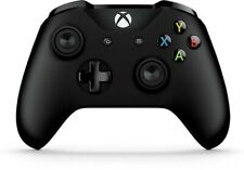 Genuine Microsoft Xbox One S Black Wireless Bluetooth Controller 6CL-00001 - VG