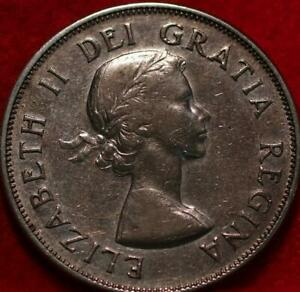 1953 Canada 50 Cents Silver Foreign Coin