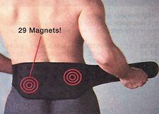 MAGNETIC BACK SUPPORT BELT WITH 29 MAGNETS, MEDIUM