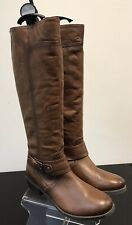 Brown Leather Boots. Size 3. New