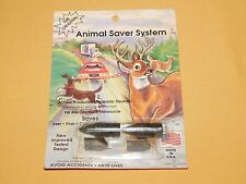 VINTAGE CAR AUTO 1991 ANIMAL SAVER SYSTEM ULTRA SONIC SAVES DEER DOGS ACCIDENTS