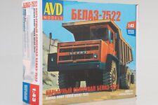 BELAZ-7522 Belorussian Heavy Dump Truck  1:43 AVD Models 1331AVD