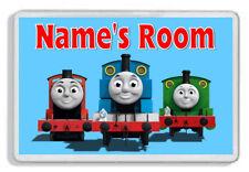 Personalised Thomas & Friends Door Plaque - Child's Bedroom *SIZE= 9.5 x 6.5 cm*