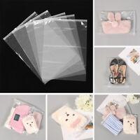 Plastic Travel Zipper Lock Storage Pouch Seal Self Cloth Organizer Package Bag