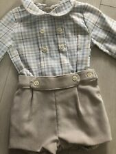 Alber Spanish Boys Outfit 3-6m