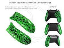 Xbox One Green Hulk Custom Controller 3D Pro Rubberised Grip Rear Handles/Panel