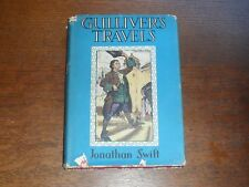 Gulliver's Travels Illustrated 8 Stunning Coloured Plates by Rackham Lilliput.