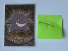 Topps Pokemon Karte | #94 Gengar | Chrome, Silber Holo | Rare | English