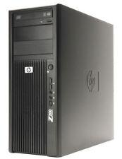 HP Z200 Pc Workstation Xeon 3470 i7 RAM 8gb Quadro FX580 SSD 240GB HDD 1tb
