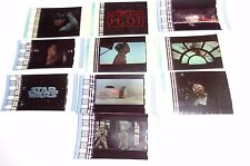 STAR WARS MOVIES RARE 12 FILM CELL LOT ** ONLY $ 2.50 ** FREE USA SHIPPING **