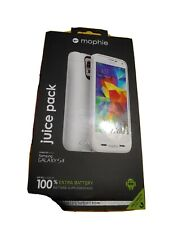 Mophie Juice Pack Samsung Galaxy S5 White Battery Case