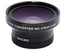 Aggiuntivo grandangolare 0,45x MACRO innesto 37mm. wide