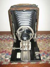 Vintage Wooden Pocket SENECA No. 31 Camera & Wooden Film Adapter Early 1900's