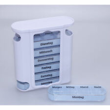 Medikamentendosierer Tablettenbox Pillendose Arzneikassette Medikamentenbox