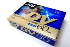 JVC MiniDV video cassette tape New, sealed 60min