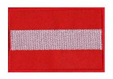 Écusson patch patche drapeau AUTRICHE 70 x 45 mm Pays Europe à coudre