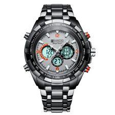 No Reserve! SRP £515 B.K Grey CHRONOGRAPH Mega Watch Inc Tag & Em Boss Box