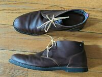 Timberland Men's 11.5 Brown Leather Brook Park Earthkeepers Chukka Ankle Boots
