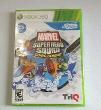 Xbox 360 U Draw Marvel Superhero Squad Comic Combact New Unopened Game