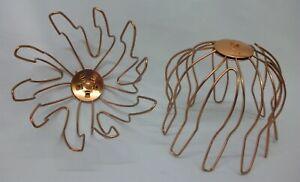 Dachrinnen Sieb Laubfangkorb aus Kupfer Regenrinnen Schutz 100  Ø mm NEU