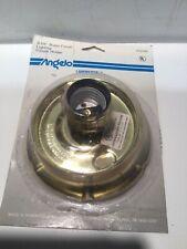 Westinghouse 70230 3-1/4 Brass Glass Shade Fixture Holder