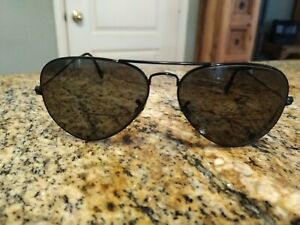 Ray-Ban Sunglasses Men RB 3025 Aviator Black Full Rim FRAME ONLY Rx 58[]14 #992