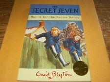 The Secret Seven Shock for the Secret Seven by Enid Blyton,Sc Book#13,VG-Shape,.