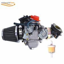 150cc Carburetor Gy6 26mm W/ Air Filter Intake Fuel Kit For Roketa Gokart