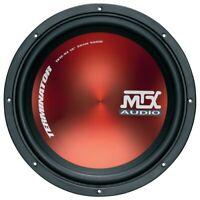 "MTX Terminator 12"" Inch 30cm 600 watt peak Car Subwoofer 4Ohm  Sub Woofer"
