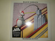 Black Sabbath: Technical Ecstasy LP White Vinyl Quality Records Pressing