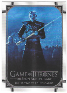 Rittenhouse Game of Thrones Iron Anniversary Series 2 Promo Card P2 Philly Show