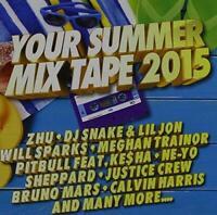 Your Summer Mixtape 2015 (2 CDs) - CD Album Damaged Case