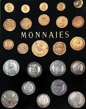 * CATALOGUE MONNAIES  VENTE AUX ENCHERES AU GEORGES V -PARIS 12 + 13/12/1977
