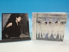 CD + Photo Card Tohoshinki TVXQ JAPAN Survivor Junsu