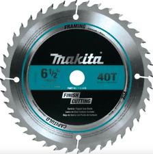 Makita 6.5 inch 40 Teeth Carbide Circular Saw Blade Wood Cutting Power Tool Part
