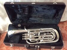 Yamaha YBH-621S Silver Plated Baritone Horn with Case - Professional model.