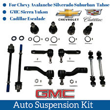 12pc Suspension Kit parts Sway Bar Links Idler Pitman Arm For Cadillac Chevy GMC
