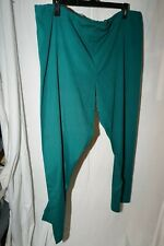 Simply Basic large green unisex scrubs pants a lot of good life left