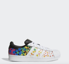 NEW Men's Adidas Pride Pack Superstar Limited Edition Shoes Size: 11.5
