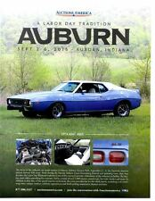 1974 AMC AMX  ~  GREAT AUCTION AD