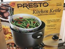 Presto 06000 Kitchen Kettle Multi Cooker Steamer, New