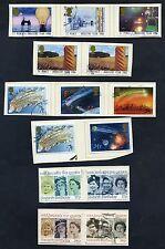 Lot of 44 stamps, Uk, 1986 Scott 1129-1167, Ten Complete Sets